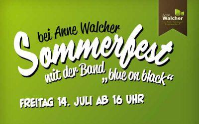 Sommerfest mit Live Musik